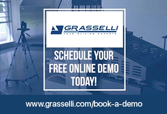 BOOK A FREE DEMO NOW GRASSELLI
